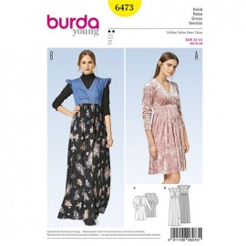 Dress Burda Young Sewing Pattern N°6473