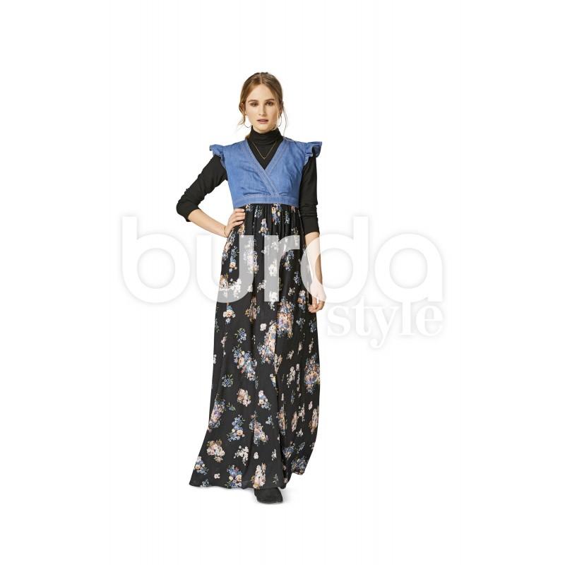 Dress Burda Young Sewing Pattern N 6473 Ma Petite Mercerie