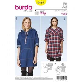 Dress Burda Young Sewing Pattern N°6475