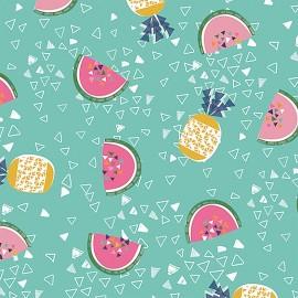 Dashwood cotton fabric Club Tropicana - Fruits in the sea x 10cm