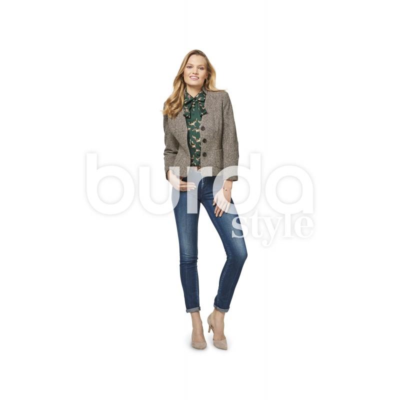 Patron veste femme avec basque