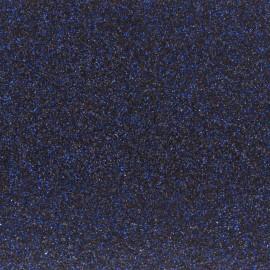 Tissu pailleté Fiesta - navy blue x10cm