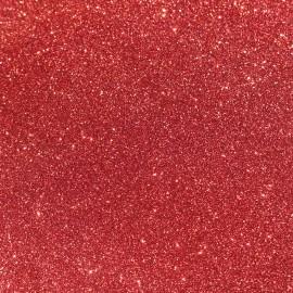 Glitter fabric Fiesta 140cm - raspberry x10cm