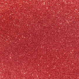 Tissu glitter Fiesta 140cm - framboise x 10cm