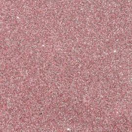 Tissu glitter Fiesta 70cm - rose clair x 10cm