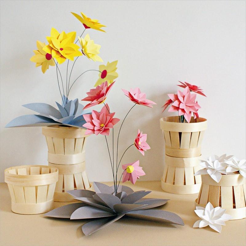 Fleurs En Papier 20 Idees De Creation Diy