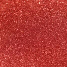 Tissu pailleté Fiesta (70cm) - rouge x 10cm