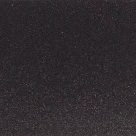 Glitter fabric Fiesta 45cm - black x10cm