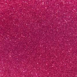 Tissu Flex à paillettes thermocollant - rose (largeur 50cm)