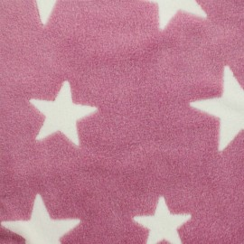 Baby's Security Blanket  A starry night sky - pink x 10cm