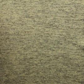 Tissu polyester lycra Maille chiné lurex - doré x 10cm