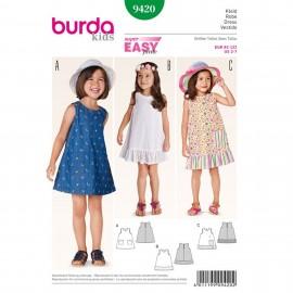 Patron  Robe Burda Kids N°9420