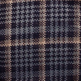 Cocktail tweed lurex fabric - pink/grey/black x 10cm