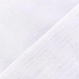 Tissu Oeko-Tex étamine Wilmo blanc x 10cm