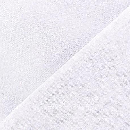 Wilmo stamen fabric -  white x 10cm