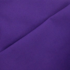 Cotton canvas fabric Delson - amethyst x 10cm