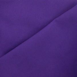 Tissu toile de coton uni Canevas Delson - améthyste x 10cm