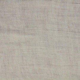Mousselino linen canvas Fabric - linen x 10cm