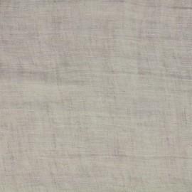 Tissu toile lin Mousselino - lin x 10cm