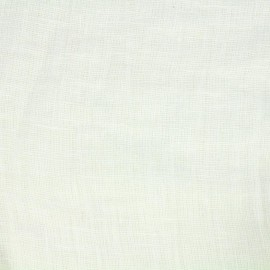 Tissu toile lin Rustilino - blanc x 10cm