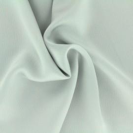Tissu satin gaufré - gris perle x 10cm