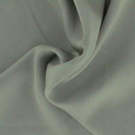 Tissu satin gaufré - gris sauvage x 10cm