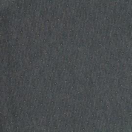 studded Milano jersey fabric - dark grey x 10cm