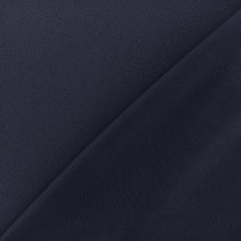 Crepe jersey fabric - night blue x 10cm