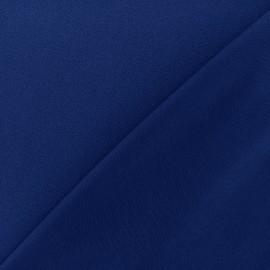 Tissu jersey crêpe - bleu navy x 10cm