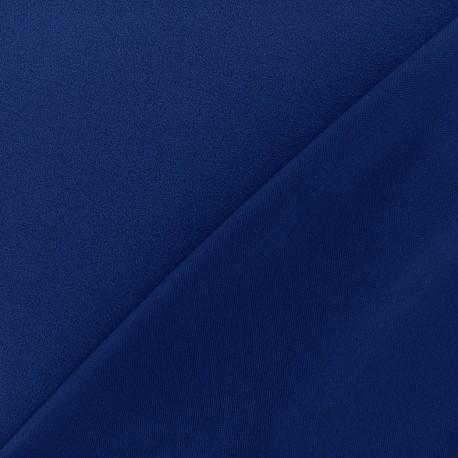 Crepe jersey fabric - blue navy x 10cm