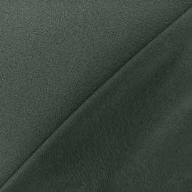 Crepe jersey fabric - dark slate x 10cm
