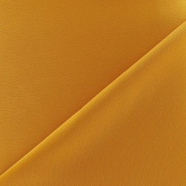 Crepe jersey fabric - ochre x 10cm