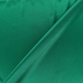 Lining jersey fabric - bright green x 10cm