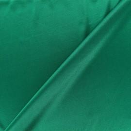 Tissu doublure jersey - vert vif x 10cm