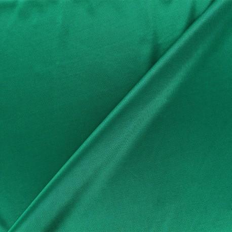 Lining jersey fabric - bright green x 10cm