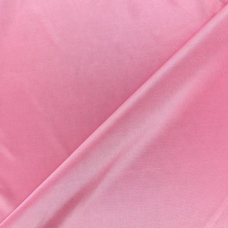 Tissu doublure jersey - rose bonbon x 10cm
