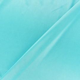 Tissu doublure jersey - aigue-marine x 10cm