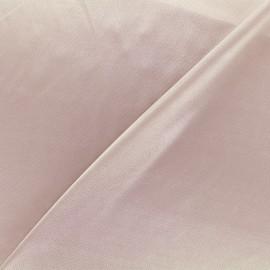 Tissu doublure jersey - gris rose x 10cm