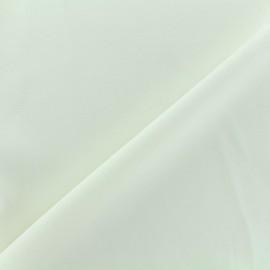 Crepe jersey fabric - ecru x 10cm