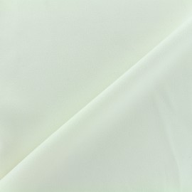 Tissu jersey crêpe - écru x 10cm