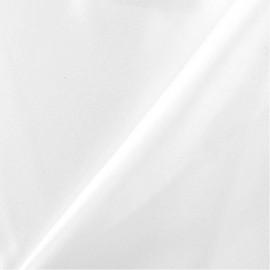 Heavy satin Bride fabric - white x 10cm