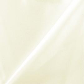 Tissu Satin lourd Mariée - écru x 10cm
