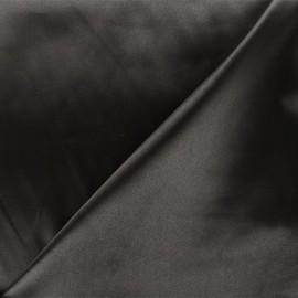 Tissu doublure Duchesse - gris foncé x 10cm