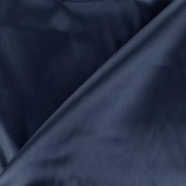 Tissu doublure Duchesse - marine x 10cm