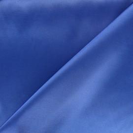 Tissu doublure Duchesse - bleu x 10cm