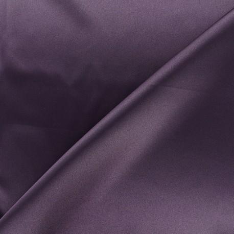 Tissu doublure Duchesse - améthyste x 10cm