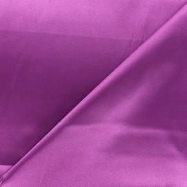 Tissu doublure Duchesse - violine x 10cm