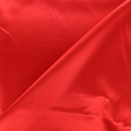 Duchesse lining fabric - red x 10cm
