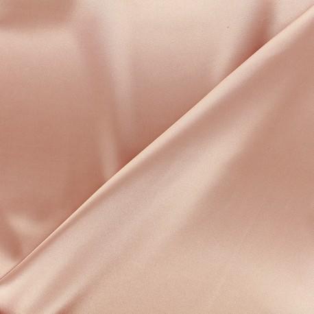 Tissu doublure Duchesse - rose camay x 10cm