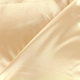 Tissu doublure Duchesse - champagne x 10cm